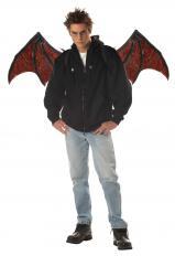 Halloween Kostüm mit beweglichen Flügel.