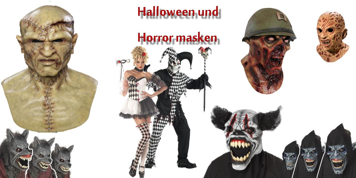Halloween und Horror Masken Schweiz