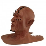 Spike Horror Maske aus Latex