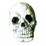 Totenkopf Maske aus Latex