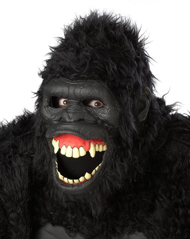 Affen Gorilla Maske