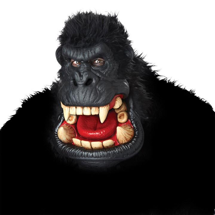 Animierte King Kong Gorilla Maske.